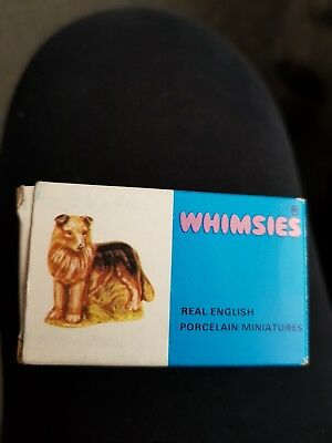 Immaculate condition Wade whimsies 1971-1984 Collie (No.26)