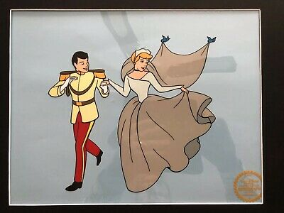 Disney Cinderella Animation Cel