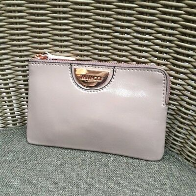 Mimco Echo Balsa Rose Gold Small Pouch Leather • Authentic Rrp $79.95