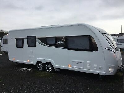 Caravan- swift elegance 650 twin axle.