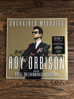 """Roy Orbison & the Royal Philharmonic Orchestra Unchained Melodies New VINYL 12"""""""