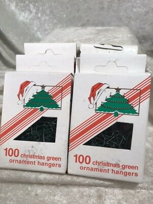 Green Christmas Ornament Hook Hangers / Italy