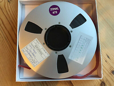"""20 x Zonal 675 - Audio Master - 1"""" (inch) Tape - Reel to Reel - 10.5"""""""