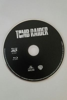 blu ray 3d SEUL tomb raider 2018