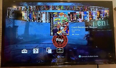 PlayStation Classic 90 Extra Games - **CHOOSE YOUR OWN GAMES** USB MOD