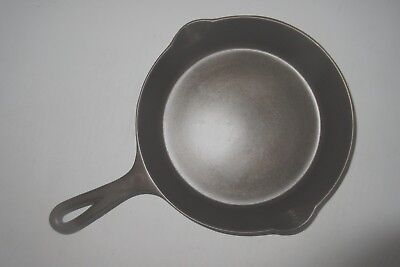 "VINTAGE GRISWOLD 1939-44 CAST IRON #6 SKILLET-PN 699 ""FLAT and SMOOTH"" (Ex.Cond)"