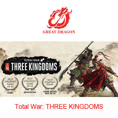 [Contact Before Purchase] Total War: THREE KINGDOMS [PC Global]