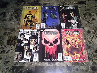 Punisher War Zone 1 2 3 4 5 6 1-6 NM/M 9.8 High Grade Complete Set 2009