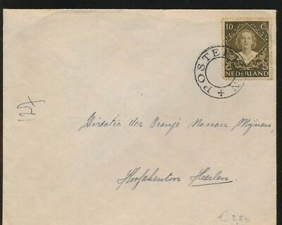 LJ39961 Netherlands fine cover with nice cancels used
