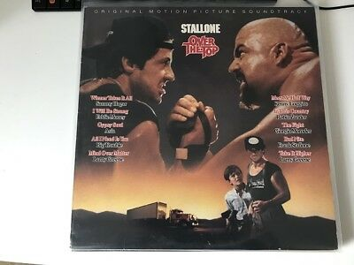 OVER THE TOP Original Soundtrack LP Stallone Vinyl