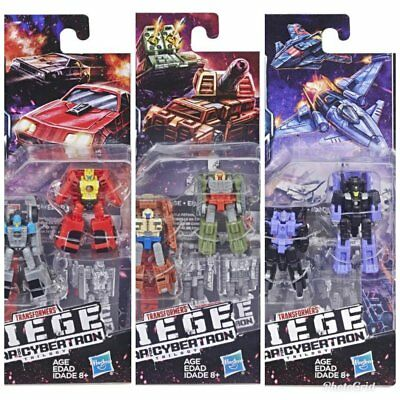 Transformers Generations Siege Micromaster Wave 1 Set of 3 Two-Packs Figure