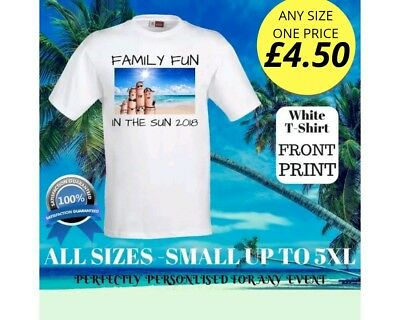 Personalised Tshirt Custom Stag Hen Partys Events All Sizes Front £4.50 FreeP&P