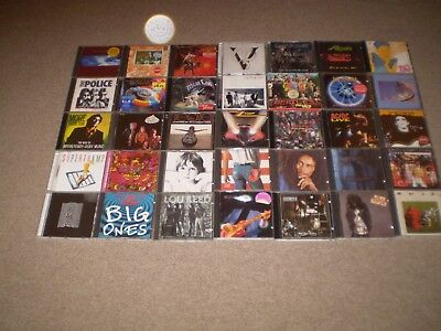 Job lot collection of 120+ CD's all listed