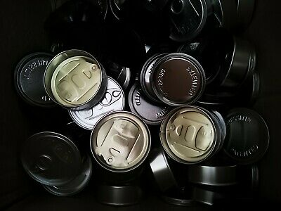 10x Pressitin cans 10x labels (leave chosen label in notes)