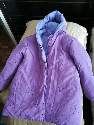 Girls Winter Lilac Jacket Age 7/8yrs