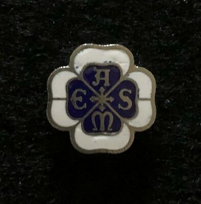 Vintage ASME American Society of Mechanical Engineers Enameled Collectible Pin