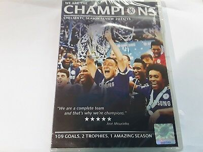 Chelsea Season Review 2014/15 Dvd! New And Sealed, Region 0. Free Uk P&p!
