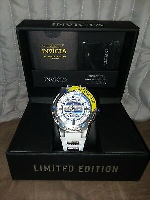 Invicta 26170 Limited Edition LE Star Wars Automatic Watch #421 of 1977 R2D2