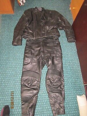 Motorcycle  Leathers - Jacket 36 /38 Trousers UK 36, Lincoln