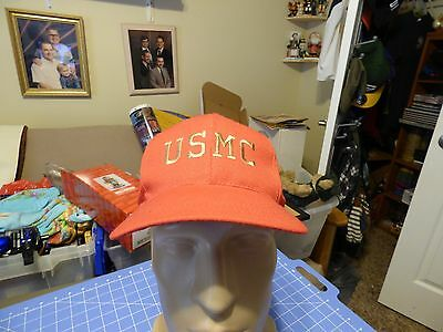 Red USMC US Marine Corps Embroidered Hat Cap Company A