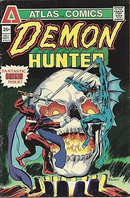 Demon Hunter #1. Sep 1975. Atlas/Seaboard. VG.
