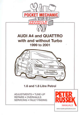 audi a4 2001 workshop manual