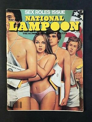 National Lampoon Magazine May 1980 Sex Roles Issue No ML
