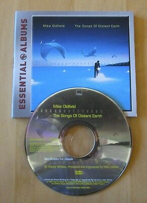 Mike Oldfield The Songs Of Distant Earth CD Essential Albums
