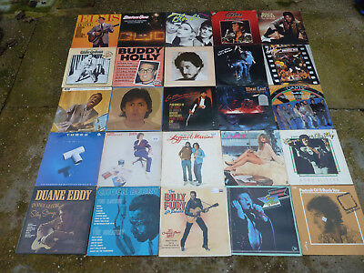 Massive Job Lot Of 70+ Vinyl Lp's Mainly Rock / Rock And Roll Etc  All Pictured