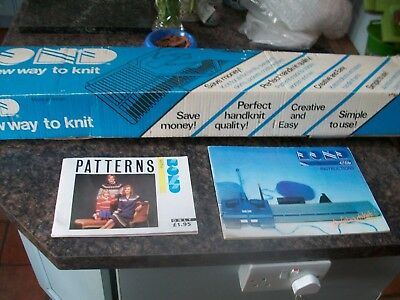 Boxed Bond The New Way To Knit Knitting Machine C/w Instructions Pattern Book