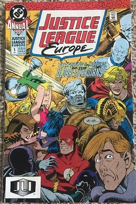 Justice League Europe Annual #1 Dc Comics Very Good Condition