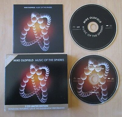 Mike Oldfield Music Of The Spheres 2CD Limited Edition