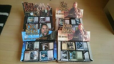 The Lord Of The Rings CCG/TCG Decipher Card Game Sammlung LOT