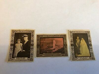 Conoration 1937 Stamps