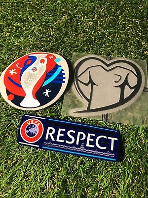 Fussball Patch Set EM 2016 Quali Euro Trikot Deutschland DFB Portugal Frankr