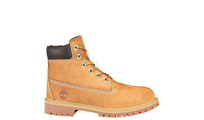 TIMBERLAND 6 INCH 6/'/' PREMIUM BOOT WHEAT CONSTRUCTION GS SIZE 4-7 Y 12909 10061