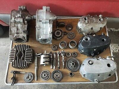 Puch motor Monza/Imola/M50/DS50 3 and 4 gang parts