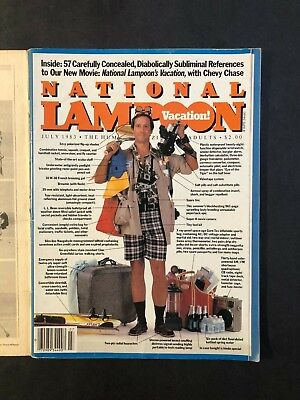 National Lampoon Magazine July 1973 Chevy Chase Vacation Issue   No ML