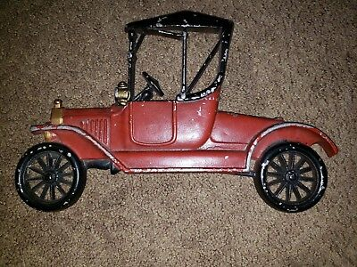 Vintage 1970's Sexton Antique Car Cast Metal Wall Decor Made in USA