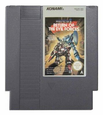 PROBOTECTOR II: RETURN OF THE EVIL FORCES (NES Game) Contra A
