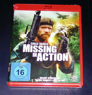 Missing in action with Chuck Norris Blu-Ray Faster Shipping New Original Package
