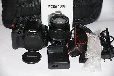 CANON 100D+CANON 18-55mm IS+EXTRAS,PERFECTA (MINT CONDITION)