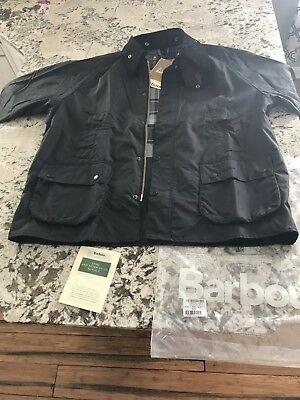 Barbour Bedale 48 New With Tags Black