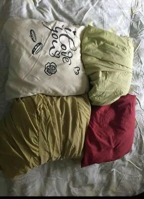 4 X King size fitted sheets