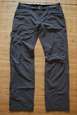 The North Face Soft shell stretch Pants Women's size 8/L Genuine Trousers