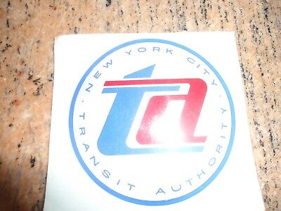 New York City Transit Authority Nycta Subway Nos  Window Decal