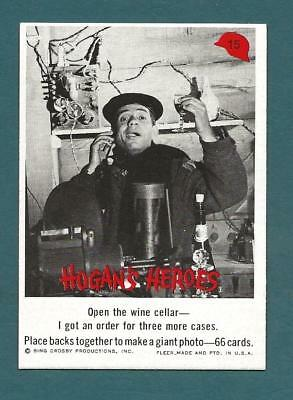 1965 Fleer Hogans Heroes Vintage Card #15 OPEN THE WINE NM Condition