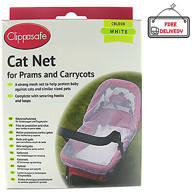 Clippasafe Carrycot Cat Net Pram Mosquito Pushchair Moses Basket Carseat Buggy