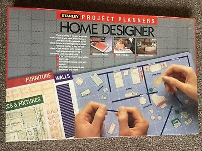 Stanley Project Planner Home Designer Kit 90-360 Interior Designer Layout Design