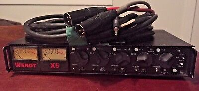 Wendt X5 5 channel audio mixer with breakout cable